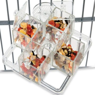 CFS 4 Corner Cage Mount Foraging Carousel Device