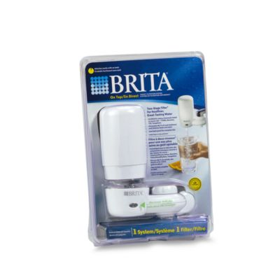 Brita® On Tap White Faucet Mount Filtration System