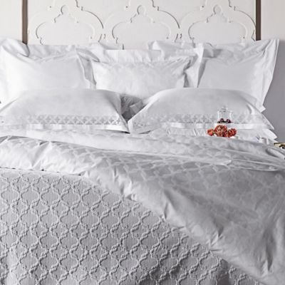 Frette at Home Marano Queen Coverlet in White