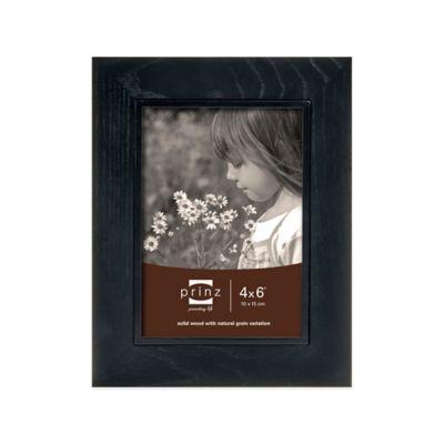 Prinz Adler 5-Inch x 7-Inch Wood Picture Frame in Black