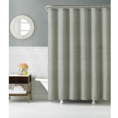 Grey Shower Curtain Designer Look