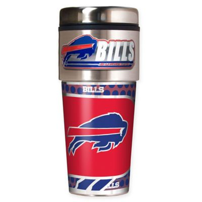 NFL Buffalo Bills 16 oz. Stainless Steel Travel Tumbler