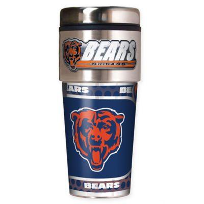 NFL Chicago Bears 16 oz. Stainless Steel Travel Tumbler