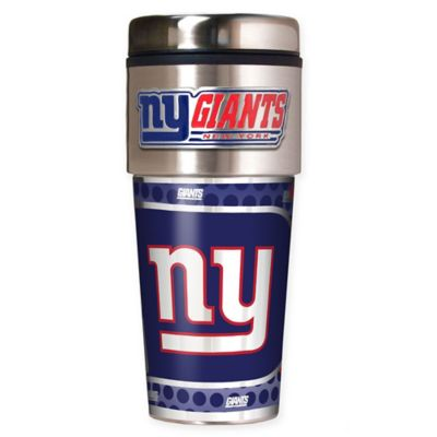 NFL New York Giants 16 oz. Stainless Steel Travel Tumbler