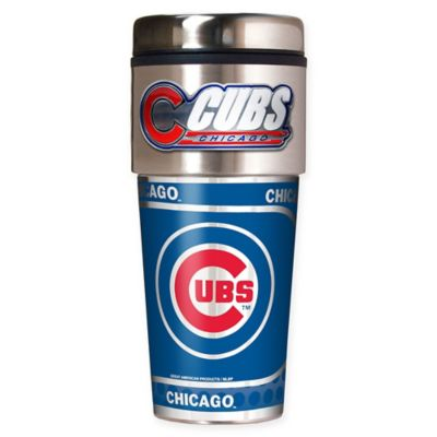 MLB Chicago Cubs 16 oz. Metallic Tumbler