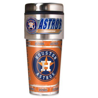 MLB 16-Ounce Astros Tumbler