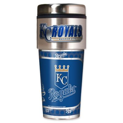MLB Kansas City Royals 16 oz. Metallic Tumbler