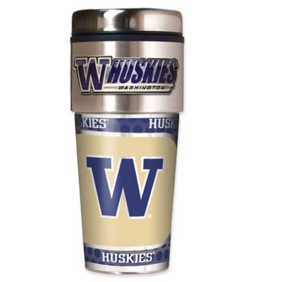 University of Washington 16 oz. Metallic Tumbler