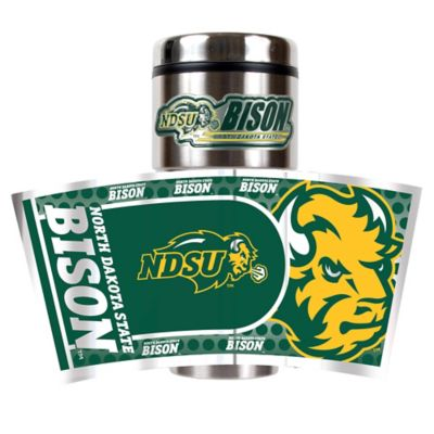North Dakota State University 16 oz. Metallic Tumbler