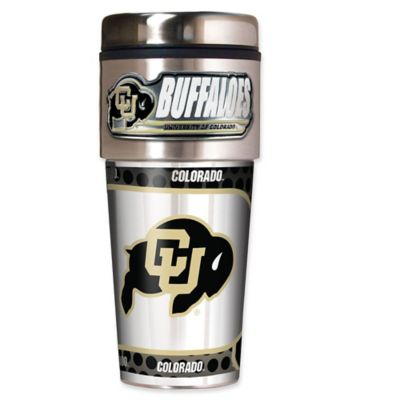 University of Colorado 16 oz. Metallic Tumbler