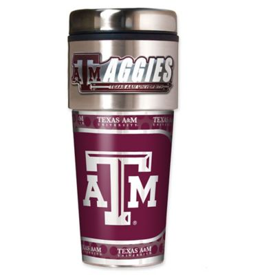 Texas A&M University 16 oz. Metallic Tumbler