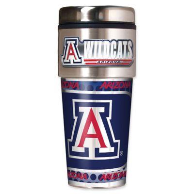 University of Arizona 16 Oz. Metallic Tumbler