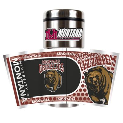 University of Montana 16 Oz. Metallic Tumbler