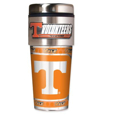 University of Tennessee 16 oz. Metallic Tumbler