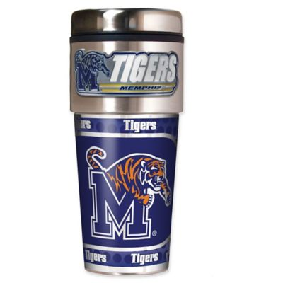 University of Memphis 16 oz. Metallic Tumbler