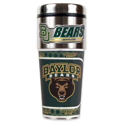 Baylor University 16 oz. Metallic Tumbler