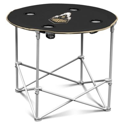 Purdue University Round Collapsible Table