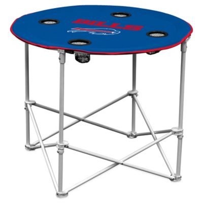 NFL Buffalo Bills Round Collapsible Table