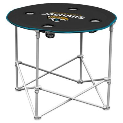 NFL Jacksonville Jaguars Round Collapsible Table
