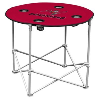 NFL Tampa Bay Buccaneers Round Collapsible Table