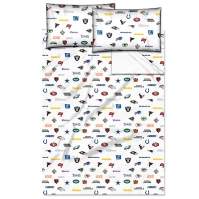 NFL Twin Sheet Set