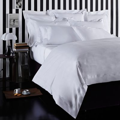 Frette At Home Tiber King Pillow Sham in White