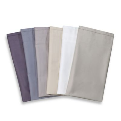 Vera Wang™ Simplicity California King Fitted Sheet in Steel