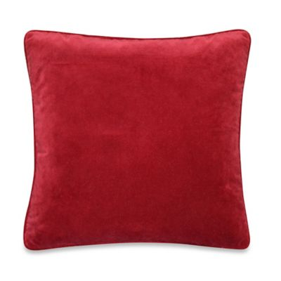 Sorrento Throw Pillow in Red