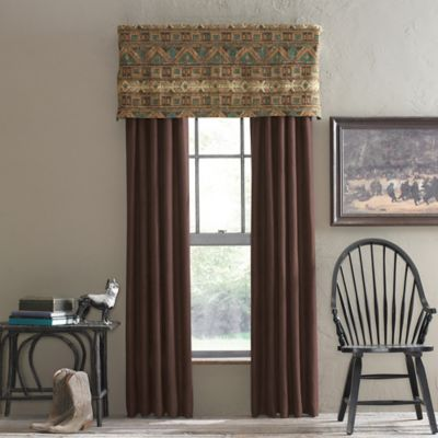 Grand Mesa Tailored Window Valance