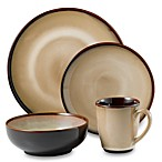 Nova Brown Dinnerware by Sango