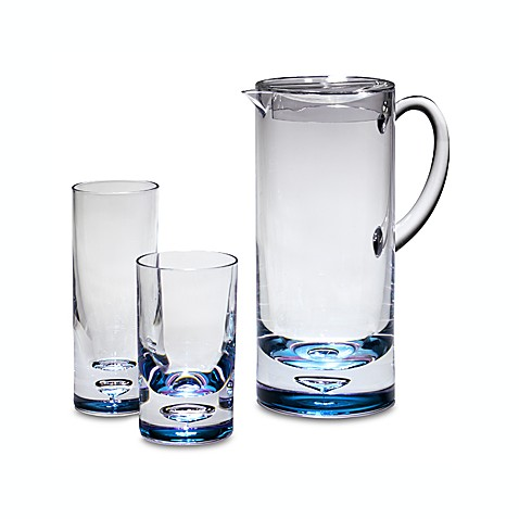 Bubble Bottom Acrylic 1 9/10-Quart Pitcher