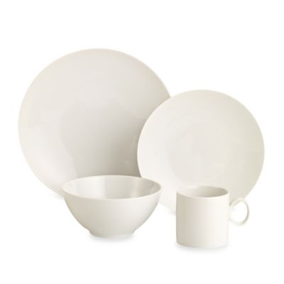 Rosenthal Thomas Loft 4-Piece Place Setting in White