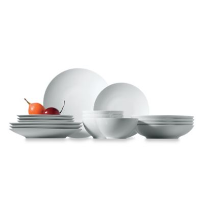Rosenthal Thomas Loft 16-Piece Dinnerware Set in White