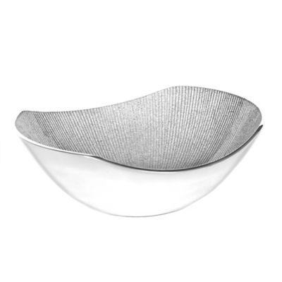 Simplydesignz Bodoni 9-Inch Bowl in Silver