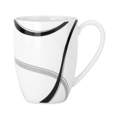Lenox® Vibe Black & Grey 12 oz. Mug