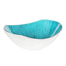 Simplydesignz Bodoni 9-Inch Bowl in Turquoise