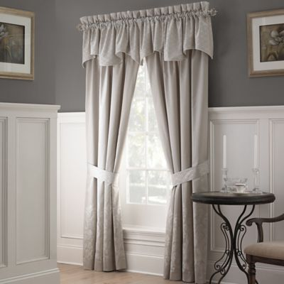 Waterford® Linens Colleen Scallop Window Valance