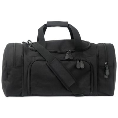 Mercury Luggage/Seward Trunk Code Alpha™ Executive Series Small Duffle in Black
