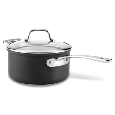 All-Clad B1 Hard Anodized Nonstick 3-Quart Saucepan with Lid