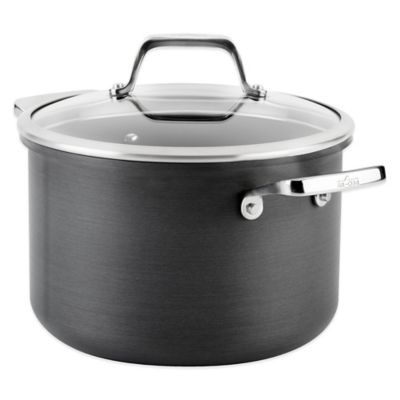 All-Clad B1 Hard Anodized Nonstick 4-Quart Soup Pot with Lid