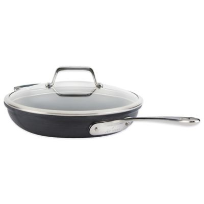 All-Clad B1 Hard Anodized Nonstick 12-Inch Fry Pan with Lid