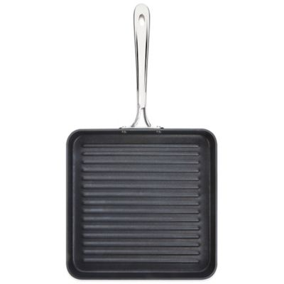 All-Clad B1 Hard Anodized Nonstick 11-Inch Flat Square Grille Pan