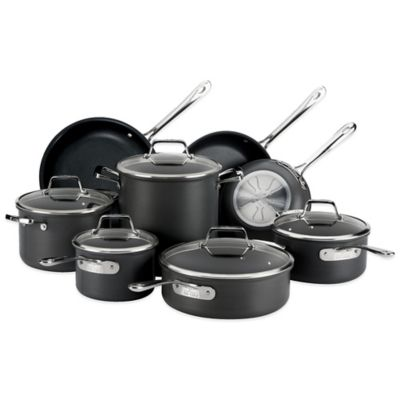 All-Clad B1 Nonstick Hard Anodized 13-Piece Cookware Set