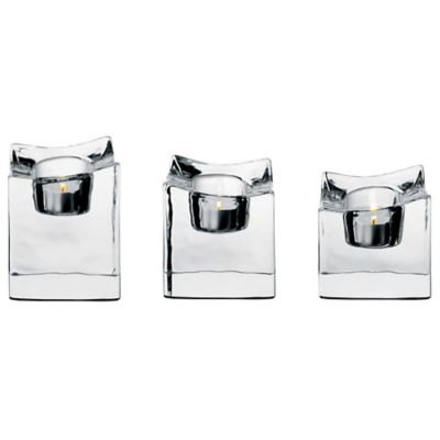 Orrefors Polaris Votive Candle (Set of 3)