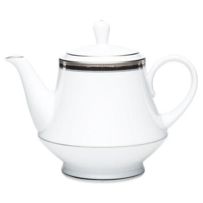 Noritake® Austin Platinum Teapot