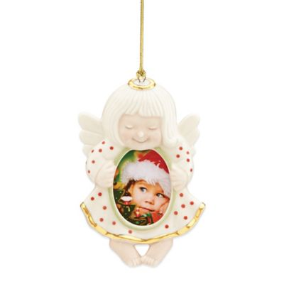 Lenox® Angel Frame Ornament