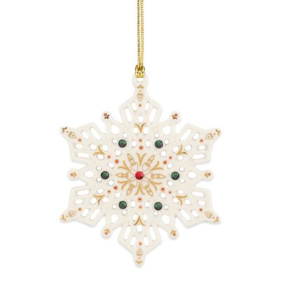 Lenox® China Jewels Snowflake Ornament