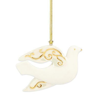 Lenox® Golden Scroll Dove Ornament