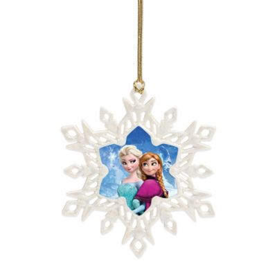 Lenox® Frozen Anna and Elsa Ornament