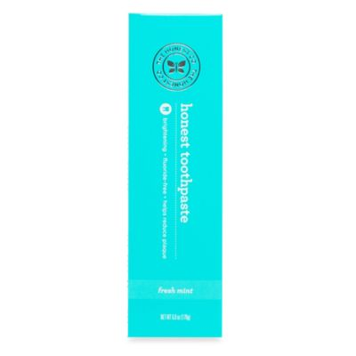 Honest 6 oz. Adult Toothpaste in Mint